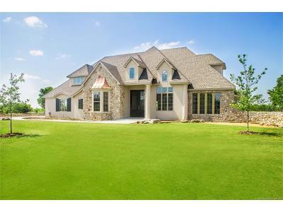 Owasso Single Family Home For Sale: 17709 E Sunset Ridge
