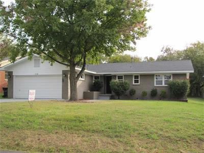 Ada OK Single Family Home For Sale: $127,000