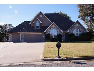 Okmulgee Single Family Home For Sale: 1702 Forest Road
