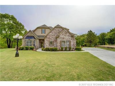Bixby Single Family Home For Sale: 14701 S 53rd East Avenue