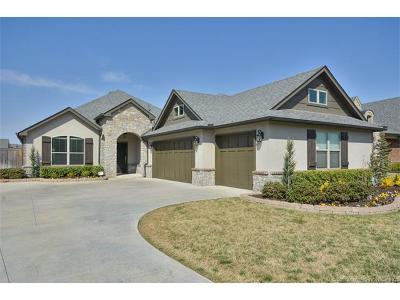 Jenks Single Family Home For Sale: 405 W 128th Street