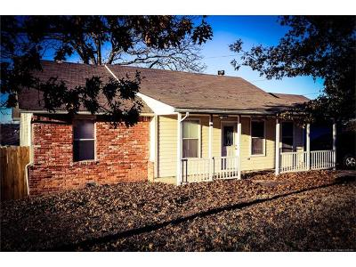 Tahlequah OK Single Family Home For Sale: $127,000
