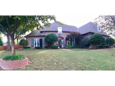 Broken Arrow Single Family Home For Sale: 3600 S Orange Circle