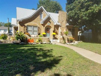 Holdenville OK Single Family Home For Sale: $95,000