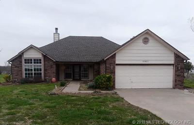 Claremore Single Family Home For Sale: 10922 E Canyon Oaks Boulevard