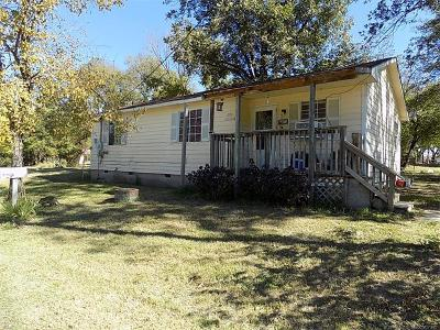 Wewoka OK Single Family Home For Sale: $40,000