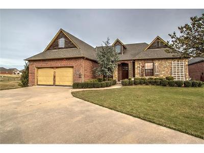 Glenpool Single Family Home For Sale: 14851 Jordan Court