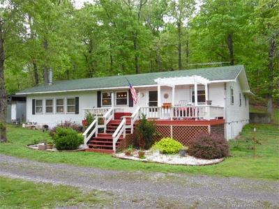 Tahlequah OK Single Family Home For Sale: $163,900