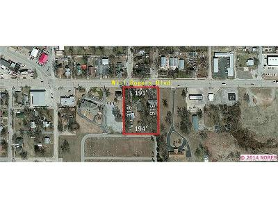 Claremore Residential Lots & Land For Sale: 701-A E Will Rogers Boulevard