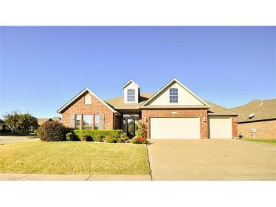 Jenks Single Family Home For Sale: 12534 S Cedar Place