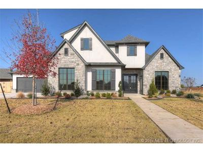 Jenks Single Family Home For Sale: 12744 S 4th Street