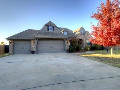 Owasso Single Family Home For Sale: 14015 E 101st Street North