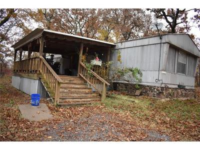 Tahlequah OK Manufactured Home For Sale: $175,000