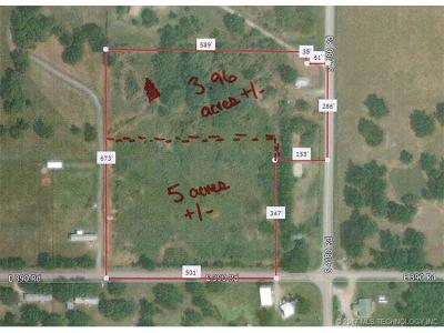 Claremore Residential Lots & Land For Sale: E 390 Road