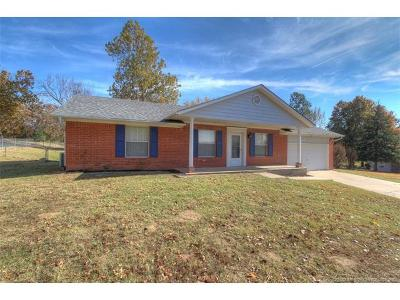 Sapulpa Single Family Home For Sale: 14975 S Moccasin Place
