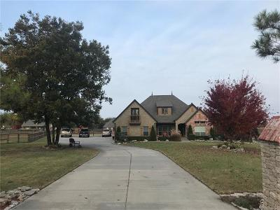 Owasso Single Family Home For Sale: 6564 S Ridgeview Road