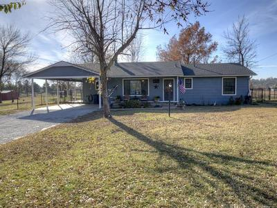 Owasso Single Family Home For Sale: 8706 E 98th Street North