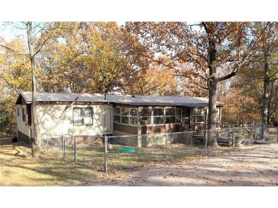Cookson OK Manufactured Home For Sale: $109,500