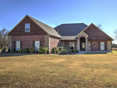 Claremore Single Family Home For Sale: 5168 E Hickory Meadow Drive