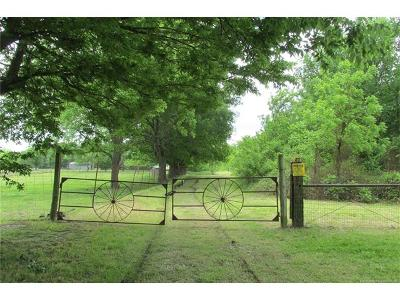 Claremore Residential Lots & Land For Sale: 13801 E 435 Road