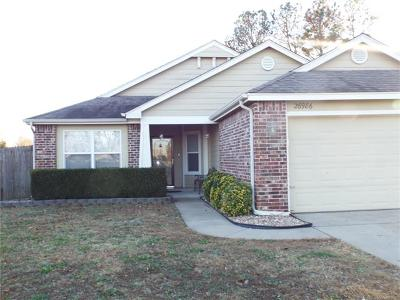 Coweta Single Family Home For Sale: 26986 E 123rd Place