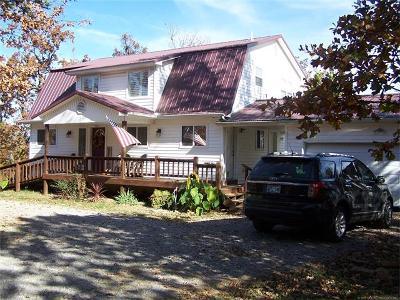 Tahlequah OK Single Family Home For Sale: $158,000