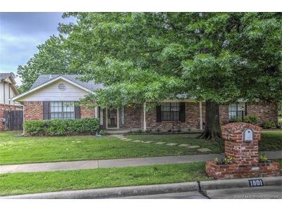 Broken Arrow Single Family Home For Sale: 1801 N 16th Street