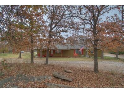 Sand Springs Single Family Home For Sale: 646 Hilltop Road