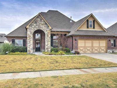 Glenpool Single Family Home For Sale: 13519 S Poplar Place