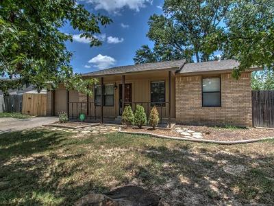 Glenpool Single Family Home For Sale: 14405 S Poplar Street