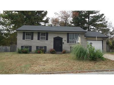 Sand Springs Single Family Home For Sale: 808 N Woodland Drive