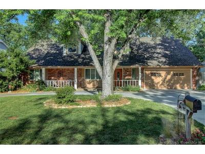 Tulsa Single Family Home For Sale: 8180 S Quebec Avenue