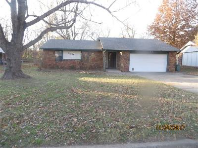 Coweta Single Family Home For Sale: 13636 S 284th East Avenue
