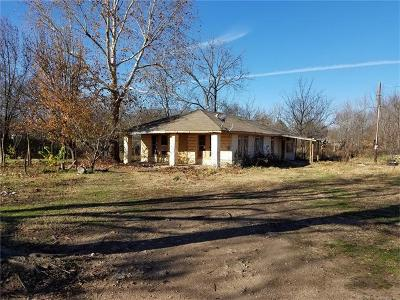 Tahlequah OK Single Family Home For Sale: $39,000
