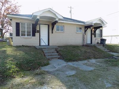Holdenville OK Multi Family Home For Sale: $45,000