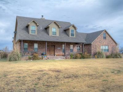 Skiatook Single Family Home For Sale: 3433 E 181st Street North N
