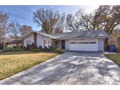 Tulsa Single Family Home For Sale: 3814 E 82nd Place