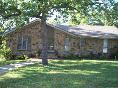 Ada OK Single Family Home For Sale: $198,500