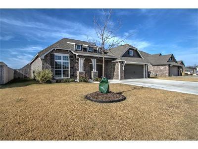 Glenpool Single Family Home For Sale: 13642 S Iroquois Avenue
