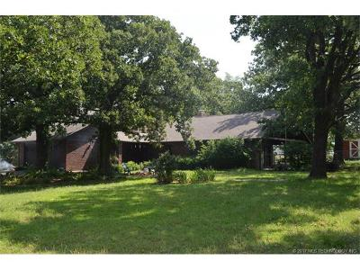 Claremore Single Family Home For Sale: 20805 S 4170 Road