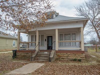 Sapulpa Single Family Home For Sale: 607 S Oak Street