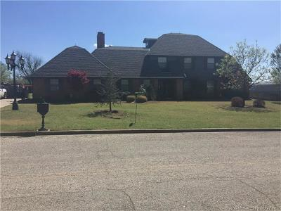 Ada OK Single Family Home For Sale: $235,000