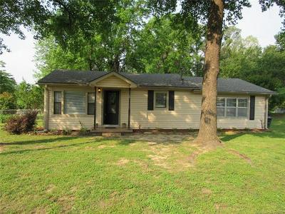 Fort Gibson Single Family Home For Sale: 601 N Johnson Street