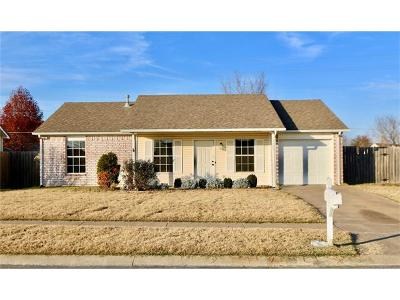 Owasso Single Family Home For Sale: 15005 E 90th Place North