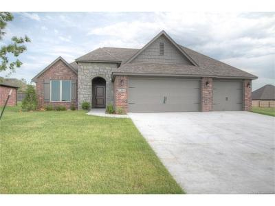 Jenks Single Family Home For Sale: 13002 S 2nd Street S