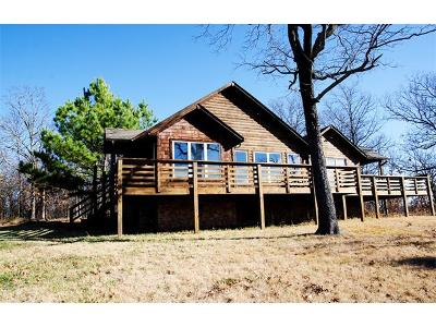 Cookson OK Single Family Home For Sale: $289,000