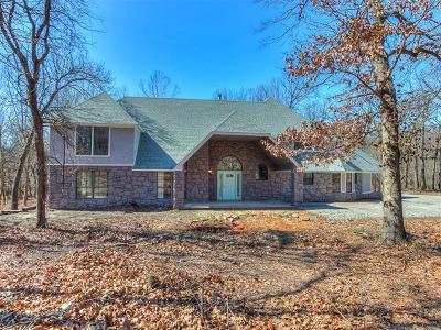 Sand Springs Single Family Home For Sale: 1500 N Birch Road