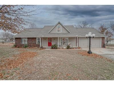 Claremore Single Family Home For Sale: 8189 E 485 Road