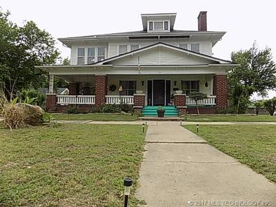 Holdenville OK Single Family Home For Sale: $145,900