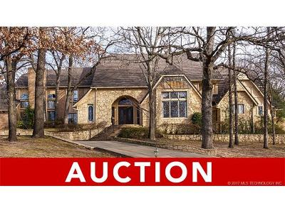 Tulsa Single Family Home For Sale: 9919 S Louisville Avenue